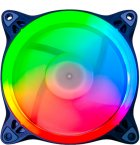 Набір Performa Aardwolf 120 мм RGB -вентиляторів + Hub + ДУ (APF-120RAINBOW-KIT) - зображення 3
