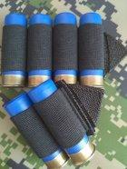 Комплект СайдСеддл (SideSaddle) BML – патронташ на ствольну коробку для дробовика 12 калібру з м'яких матеріалів (тканина) (77772) - зображення 2