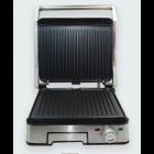 Гриль Dsp электрический прижимной с открытием на 180° 1800 Вт Серебристо-чёрный (KB-1045) - изображение 1