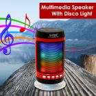 Портативна колонка Bluetooth WS-1806+ зі світломузикою Black - зображення 8