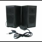 Компьютерные деревянные колонки UKC акустика FT-102 Black - изображение 1