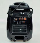 Колонка-валіза Golon RX-810BT зі світломузикою, з мікрофоном +bluetooth - зображення 4