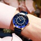 Жіночі наручні годинники Curren 9066 Blue-Cuprum - зображення 2