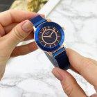 Жіночі наручні годинники Curren 9066 Blue-Cuprum - зображення 4