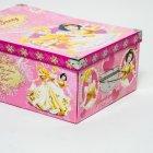 Коробка гардеробная картонная с металлическими ручками Evoluzione 30 х 42 х 17 см Принцессы (29) - изображение 2