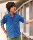 Рубашка Mayoral Boy 6134-87 12A Синяя (2906134087123) - изображение 4