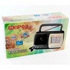 Акустическая система Kipo аккумуляторный радиоприемник FM приемник 19.8 см Чёрный (KB-408AC) - изображение 2