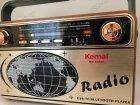 Аккумуляторный радиоприемник аудиосистема с пультом управления и Bluetooth радио Kemai Retro (MD-503BT) - изображение 7