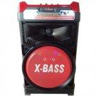 Акустическая система NNS чемодан комбик Bluetooth колонка усилитель с микрофоном Original Красная (1388) - изображение 1