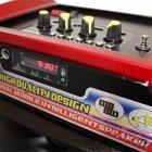 Акустическая система NNS чемодан комбик Bluetooth колонка усилитель с микрофоном Original Красная (1388) - изображение 2
