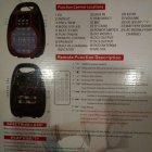 Акустична система Golon Bluetooth колонка комбо підсилювач з мікрофоном Чорна (RX-810) - зображення 2