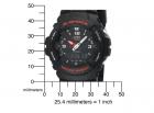 Годинник CASIO G-Shock G100-1BV Чорні - зображення 2