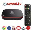 Смарт TV BOX с подпиской Popcorn Netflix Android приставка 4K Petra G4 + Ознакомительный Sweet.tv - изображение 1