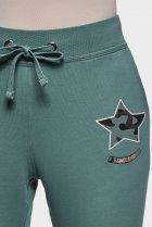 Жіночі зелені спортивні штани Oodji XS 16701042-5/46919/6C00P - зображення 4