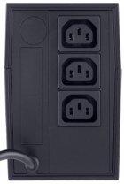ДБЖ Powercom RPT-1000 A IEC + Кабель питания Gemix 1.5 м (GC 1107) в подарок! - зображення 3