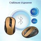 Мышь Promate Clix-7 Wireless Black/Gold (clix-7.gold) - изображение 6