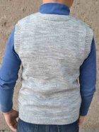 Жилет Прованс 13032 134-140 см Серый (4823093414327) - изображение 2