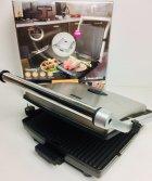 Гриль електричний притискної DSP KB-1002 1400W Сріблясто-чорний (par_KB 1002) - зображення 4