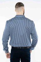 Рубашка в полоску Time of Style 511F054 XS Темно-синий/белый - изображение 5
