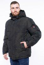Куртка однотонная Time of Style 191P98854 L Темно-зеленый - изображение 3