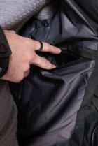 Куртка однотонная Time of Style 191P98854 L Темно-зеленый - изображение 7