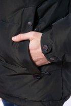 Куртка однотонная Time of Style 191P98854 XXL Темно-зеленый - изображение 6