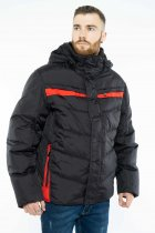 Куртка Time of Style 157P131104 46 Черно-красный - изображение 1