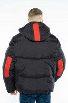 Куртка Time of Style 157P131104 46 Черно-красный - изображение 5
