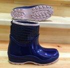 Резиновые сапоги Selena с утеплителем 41 25,7 см синие - изображение 8