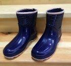 Резиновые сапоги Selena с утеплителем 41 25,7 см синие - изображение 9