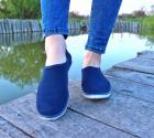 Мокасины Desun 36 23,5 см синий - изображение 5