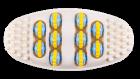Роликовый массажер для стоп ORTEK Foot Roller 08528 - изображение 3