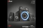 Акустична система Trust GXT 658 Tytan 5.1 Surround Speaker System(21738) - зображення 6