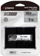 Kingston KC2000 1TB NVMe M.2 2280 PCIe 3.0 x4 3D NAND TLC (SKC2000M8/1000G) - изображение 3