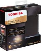 """Жорсткий диск Toshiba Canvio Premium 2TB HDTW220EB3AA 2.5"""" USB Type-C External Dark Gray Metallic - зображення 6"""