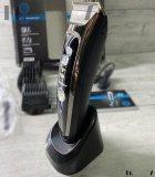 Машинка для стрижки волос и бороды профессиональная аккумуляторная с 7 насадками Geemy GM-800 - изображение 7