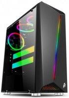 Корпус 1stPlayer R3-3R1 Color LED Black - зображення 1