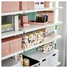 Коробка з кришкою IKEA (ІКЕА) TJENA 18х25х15см рожева (004.038.17) - зображення 6