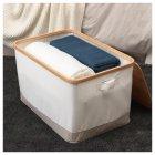 Коробка IKEA (ІКЕА) RABBLA 35х50х30см коричнева бежева (403.481.26) - зображення 5