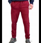 Спортивні штани чоловічі 8506 SAMO бордо XL - зображення 1