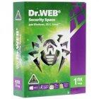 Антивирус Dr. Web Security Space, 1 ПК 1 год карт. конверт (KHW-B-12M-1-A3) - изображение 1