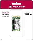 Transcend SSD MTS430S 128GB M.2 SATA III 3D NAND TLC (TS128GMTS430S) - зображення 4