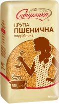 Упаковка крупы из мягкой пшеницы измельченной шлифованной Сквирянка 800 г х 6 шт (4820006018962) - изображение 2