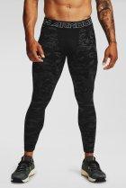 Мужские черные тайтсы UA Armour CG Print Leggings Under Armour SM 1360575-001 - изображение 1