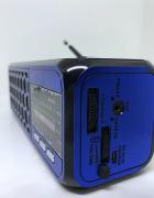Радиоприемник Bluetooth Golon RX-BT23 с фонариком Синий - изображение 3
