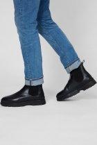 Мужские черные кожаные челси ST GRIP Gant 44 21651040 - изображение 2