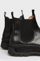 Мужские черные кожаные челси ST GRIP Gant 40 21651040 - изображение 6