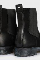Мужские черные кожаные челси THROUPER Diesel 42 Y02476 PS066 - изображение 2