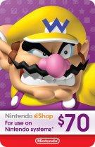 Nintendo eShop Card $70 (USA) - зображення 1