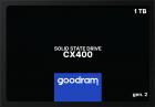 """Goodram CX400 Gen.2 1TB 2.5"""" SATAIII 3D NAND TLC (SSDPR-CX400-01T-G2) - зображення 1"""